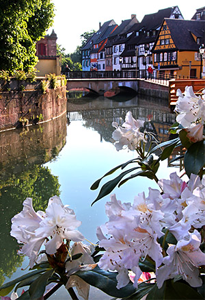 River Lauch, Colmar, the Alsace, France