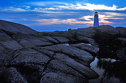 Peggys Cove lighthouse 2 - Strictly copyrighted John T. Baker Photographer LLC, JayBee Stock.com