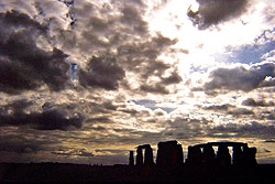 Stonehenge with clouds - Strictly copyrighted John T. Baker Photographer LLC, JayBee Stock.com