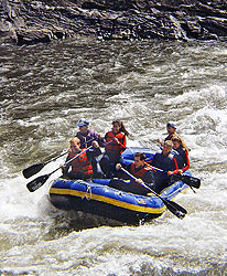 River rafting, Riggins, Idaho