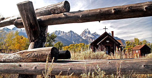 Chapel of the Transfiguration, Grand Teton national park, Wyoming
